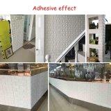 Etiquetas engomadas no tóxicas de la pared de la espuma del PE del ladrillo 3D de la decoración de la pared del sitio