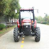 Trator da roda da exploração agrícola do fabricante Wd1004 4WD 100HP