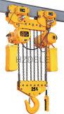 tipo eléctrico alzamiento de cadena de la carretilla 25t