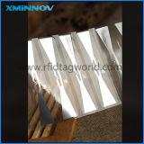 Etiqueta destrutiva passiva da freqüência ultraelevada de RFID para o vidro do pára-brisa