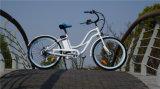 """최신 판매 26 """" 여자를 위한 바닷가 전기 자전거"""