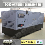 генератор 1710kVA 50Hz звукоизоляционный тепловозный приведенный в действие Perkins (SDG1710PS)