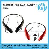 Le cou sans fil de sport stéréo imperméable à l'eau a accroché le casque de Bluetooth