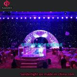 2016の棒、ディスコ、ホテル等が付いている結婚披露宴の装飾のための熱いイベントの背景幕LEDのStarlitカーテン