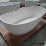 Baignoire artificielle de salle de bains de pierre de résine de Slabacrylic de quartz d'hôtel
