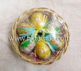 소형 옥외 훈장에 의하여 인쇄되는 로고 플라스틱 부활절 달걀