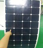 Sunpower QC0911-2 접속점 상자를 가진 태양 전지 100W Sunpower 반 유연한 태양 전지판