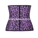 Corset de latex de femmes de léopard