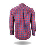 도매 의류 새로운 디자인 형식 100%년 면 여자 격자 무늬의 셔츠