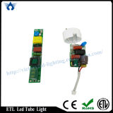 Constructeur High Lumen ETL T8 1.2m G13/Single Pin/R17D DEL Tube (18W)