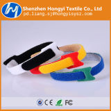 Gancho & cinta plástica de travamento automático ajustáveis personalizados do laço