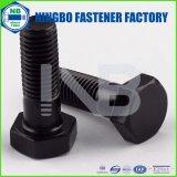 A307のGr(ウォッシャーFACEなし)ANSI / ASTM / ASME B18.2.1重い六角ボルト。 Bブラックフルスレッドまたはハーフスレッドの頭マーキング:NbのかYHC