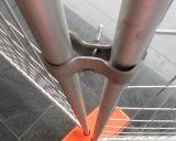Au-Typ populärer galvanisierter Temp-Zaun-temporärer Aufbau, der mit China-Fabrik ficht
