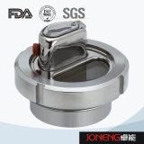 Vidro de vista rosqueado higiênico do aço inoxidável (JN-SG2002)