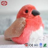 Giocattolo popolare dell'uccello farcito peluche molle variopinta del pappagallo