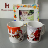 A4, Mouse Pad, Mug, Hard Surface 및 Gifts를 위한 A3 Sheet Size 반대로 Curl 100GSM Sublimation Printing Paper