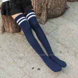 Schule-Kleid-Socken-Auslegung-Schule-Socken kundenspezifisch anfertigen