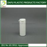 frasco plástico dos doces do PE 25ml com o tampão da tração do anel