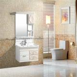 An der Wand befestigte Badezimmer-Schrank PVC-Badezimmer-Eitelkeiten