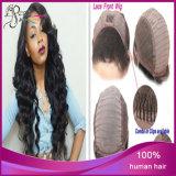 Perruques 100% d'avant de lacet de cheveux humains de cheveux de Vierge