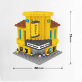 Brinquedo da construção do brinquedo do bloco de apartamentos da instrução (H0312083)