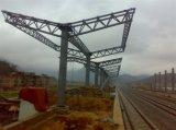 Estructura de acero galvanizada del braguero del tubo