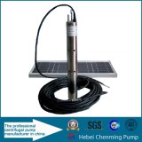 Pompe solaire sans brosse de jardin, jardin solaire de pompe à essence Using