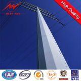 69kv torre de aço da classe E Pólo para a linha de transmissão projeto