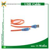 Cable de carga micro del USB del interfaz caliente de V8