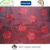 Tessuto del rivestimento del jacquard del vestito dei poli uomini 90-93GSM della viscosa 68d*120d 145cm