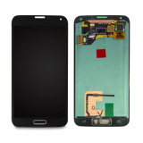 Handy-Bildschirm-Reparatur LCD-Bildschirmanzeige für Fingerspitzentablett Samsung-S5