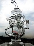de Waterpijp van het Glas Hitman van 47cm, de Waterpijp van het Glas van de Percolator, Rokende Pijp