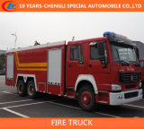 HOWO 6X4 10 Cbm Foam Fire Truck/HOWO 3axles Fire Truck