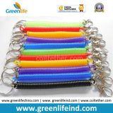 Laisse simple de longe de Bungee de crochet en plastique du cordon extensible W/Colored Carabiner