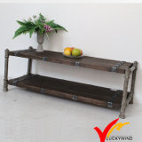 Fsc Shabby Chic Antique Vintage Industrial French Country Mesa de café de madeira