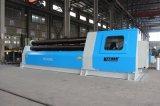 セリウムが付いているKrrass W12-10X2500mm CNC 4のローラーの圧延機