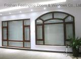 Het Openslaand raam van het aluminium met Geïsoleerd Glas (voet-W80)