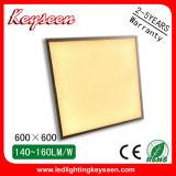 5years el panel de la garantía 600X600m m 60W LED con 140lm/W