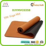 Buntes Printing TPE Yoga Mat mit Brand Logo Printed