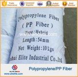 Fibra concreta Macrofiber de Undee do Polypropylene do reforço de fibra