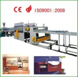 WPC (PVC + bois) Extrusion Machines (Coextrusion)