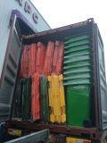 contenitore di rifiuti di plastica del Wheelie 660L grande volume