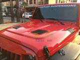 Ridge robusto Bonnet Engine Hood per Jeep Wrangler Jk