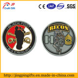 Plating antique Metal Military Challenge Coin avec Custom Logo
