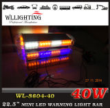 Emergência Amber LED Police Traffic Car Warning Strobe Lightbar