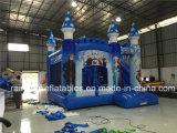 Castello congelato castello di salto rimbalzante gonfiabile dei capretti popolari