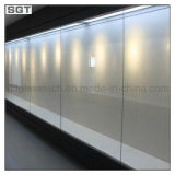 Baixo Iron/Clear super Tempered Glass para Cabinet