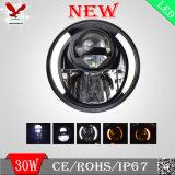 Vechiles를 위한 LED 헤드라이트, Offroad 빛, 유일한 광속 Patterm 완벽한 모양 및 커트 라인, 지프, Truck , Harley 기관자전차, 지프 논쟁자 (HCW-L301097)