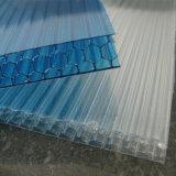 Bayer-UV-BLAUes freies Polycarbonat-Bienenwabe-Blatt