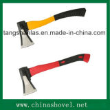 Outil manuel de découpage pour la hache en bois de division d'acier du carbone